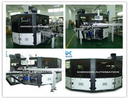 En Iyi Flat Bed Silk Automatic Screen Printing Machine Turntable Type for sale