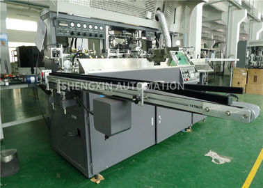 Çin Auto Baby Bottle Screen Printing Machinery With UV Curing / Air Drying Fabrika