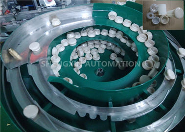 Flexible Cap Automated Assembly Machines Bottles Feeders For Packing Industry