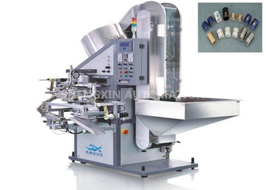 Çin Cap Hot Foil Stamping Machine , Plastic / Metal Stamper Machine Fabrika