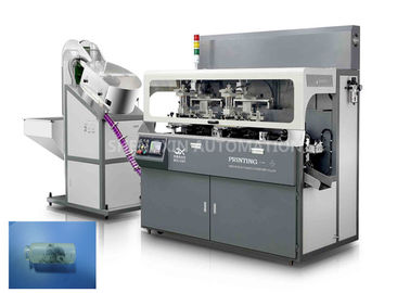 Çin Fully Automatic Screen Print Machine Chain - Type For Multicolor Glass Tube Plastic Tube Fabrika
