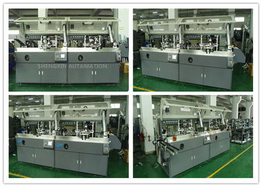 Çin Automatic Screen Printing Machine Screen Print Machine For Plastic PET / PP / PE Bottles Fabrika